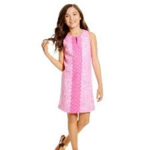 Lilly Pulitzer for Target Shift Dress Girls Sz LG